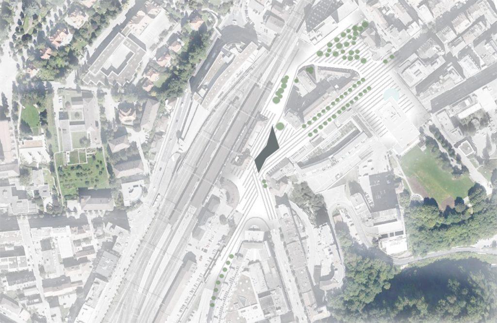 01_Orthophoto_place de la gare_Fribourg